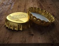 Stella Artois bottle caps