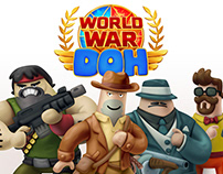 -WORLD WAR DOH- concepts and illustrations