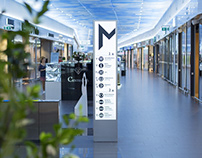 'MEGA' shopping mall identity