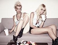Nike Customization for Nervo Music girls