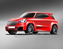 FIAT Padmini Hatch Concept