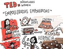 TEDxMirafloresWomen 2016: Dibujos en Vivo