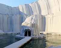 La cueva de Emiliodon. Modelado 3D. 2007