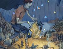 《The Adventure》 magazine cover design