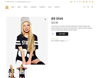Seller - E-commerce WordPress Theme - Product template