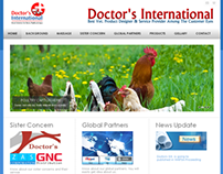 Web Design : Doctors International