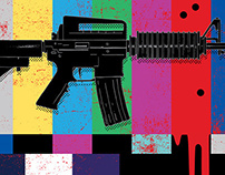 Guns in Hollywood: Television for Entertainment Weekly