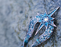 Polaris Hair Pin
