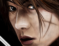 Rurouni Kenshin Digital Painting