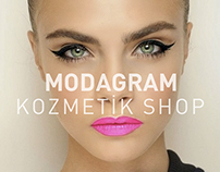 Modagram Kozmetik Shop-Landing Page