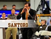 Pat Santoro: Lehigh Head Wrestling Coach