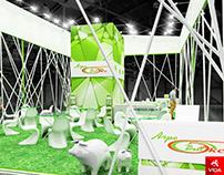 """Exhibition stand for company """"Агровитекс"""""""