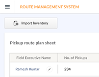 Route Management System