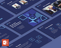 Law Company PowerPoint Presentation Template