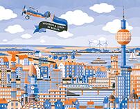 Berliner Volksbank Immobilien GmbH, poster campaign