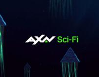 AXN SCI_FI Rebrand