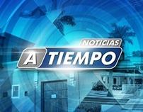 A TIEMPO - Set Televisivo