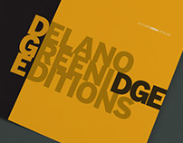 Visual identity Delano Greenidge Editions (DGE)