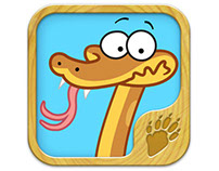 What Did Snakey Eat? App- Ages 2-4