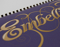 Ornamental Type Font Cards