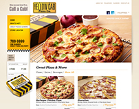 YELLOW CAB PIZZA CO. PH WEBSITE REDESIGN