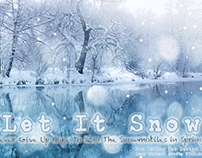 Let It Snow ~ Fox Valley Web Design LLC