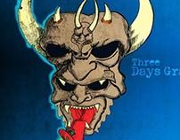 Three Days Grace Drum Head