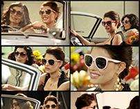 DOLCE&GABBANA SS12 sunglasses  Bianca Balti