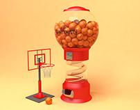 The Basketball Machine
