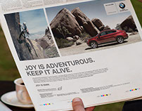 BMW JOY. Campaign