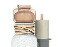 Vase Bottle Candle hair dryer