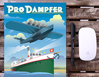 ProDamfer poster with new logo