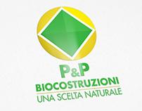 P&P Biocostruzioni - Logo restyle