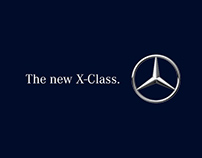 Artworks for Mercedes-Benz X-Class