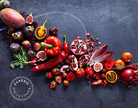 Classic Fresh Foods — Brand Identity & Photography