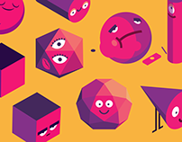 Solid Solids iMessage Stickers