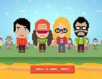 Gra o BRO | Job Application Game