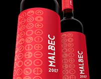 Label Design Vancouver / Malbec, Syrah & Merlot Labels