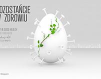 Easter 2020 coronavirus card