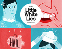 Cover Little white lies Weekly