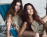 2 Girls in Bali IMUTE Magazine