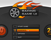 Racing Game UI