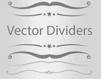 Vector Dividers Set