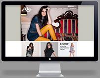 Akè // Web Design