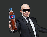 Retoques para campaña Pepsi Music