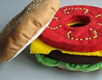 """""""Burger"""" bracelets"""