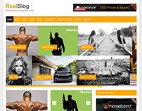 RealBlog - Responsive WordPress Blog Theme