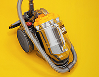 Dyson Vacuum Cleaner Modeling