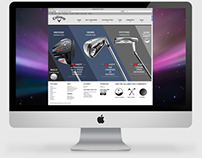 Callaway Golf Co: Website Redesign