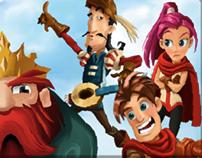 Flying Kingdoms - GUI & Icon design